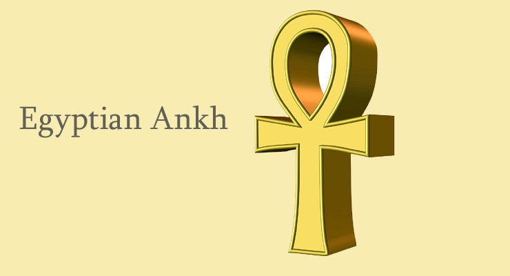 Ankh Good Luck Symbol Represents Eternal Life