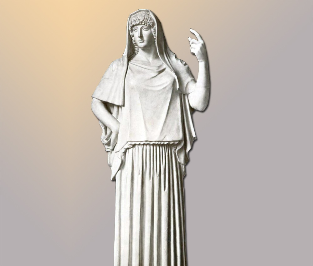 Hestia - facts and information about greek goddess Hestia
