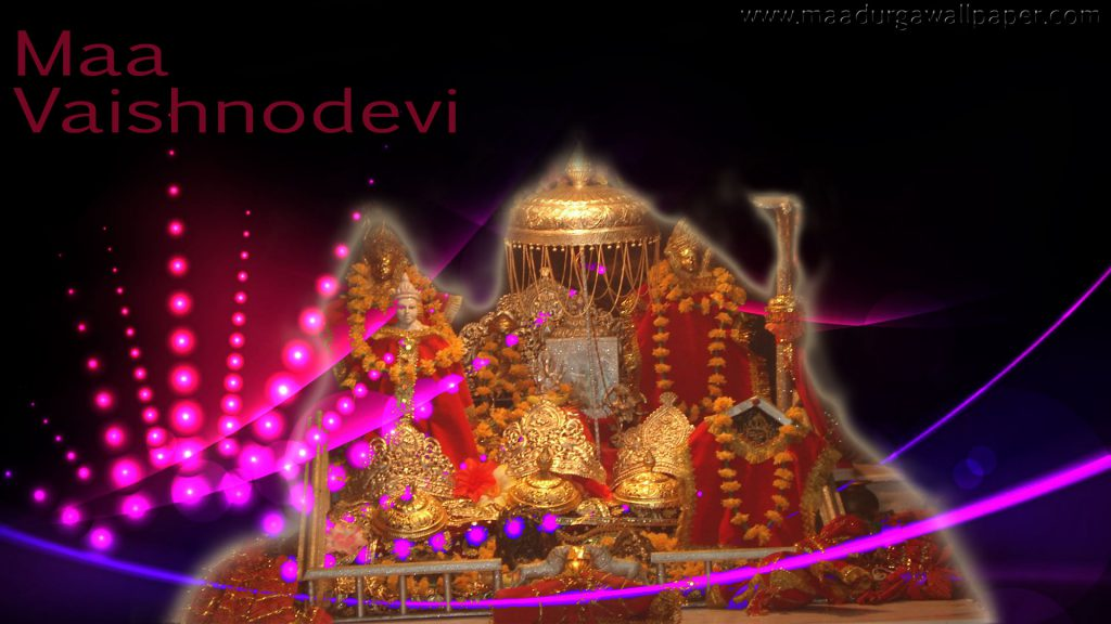 Maa Vaishno devi wallpaper full size to grace mobile and desktop screen