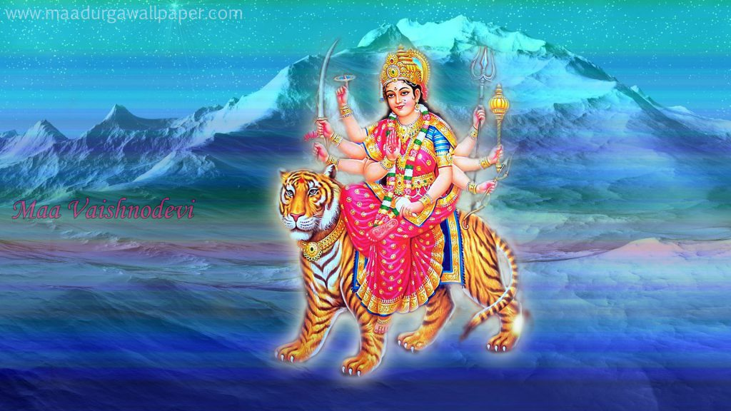 Maa Vaishnodevi photos & hd images download free for festival greeting & desktop background screen